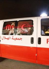 إصابات خطيرة بحادث سير في نابلس