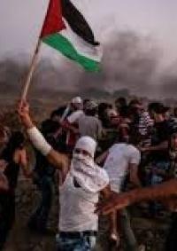 اصابات خلال قمع الاحتلال للمسيرات السلمية شرق غزة