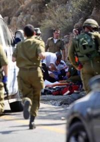 استشهاد المنفذ- اصابة مستوطنين في عملية دهس جنوب بيت لحم
