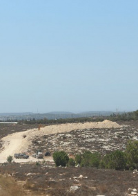 اصابة طفلة دهسها مستوطن غرب بيت لحم