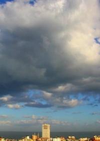 الطقس: منخفض جوي مصحوب بأمطار متفرقة