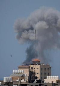 شهيد وعدد من الإصابات في غارة إسرائيلية غرب بيت لاهيا