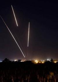 اطلاق صواريخ تجاه مستوطنات