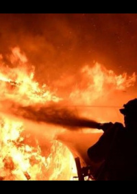 أصابة طفلين بحالة حرجة إثر حريق منزلي في يطا جنوب الخليل