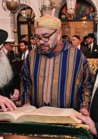 الرئيس الاسرائيلي يوجه رسالة للعاهل المغربي