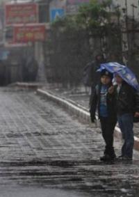 الطقس: امطار على مختلف المناطق