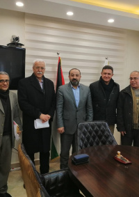 كهرباء القدس تبحث مع النائب العام مستجدات أزمة الكهرباء