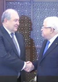 الرئيس الأرميني يصل بيت لحم ويزور كنيسة المهد