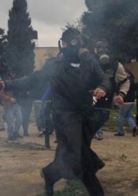 إصابة 3 مواطنين بينهم ناشط إسرائيلي في مسيرة كفر قدوم الأسبوعية