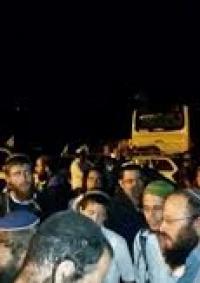 مستوطنون يهاجمون بلدة حوارة جنوب نابلس