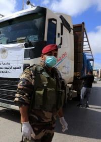 (شاهد) 700 طرد غذائي من مؤسسة الرئاسة إلى مخيمات بيت لحم