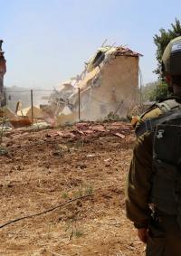 الاحتلال يهدم منزلا في خربة بيت اسكاريا جنوب بيت لحم