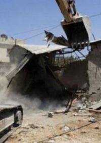 الاحتلال يهدم بركسا قيد الانشاء شرق بيت لحم