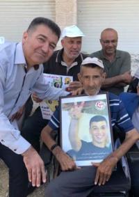 وفاة والد الأسير حلمي هماش من مخيم الدهيشة ببيت لحم