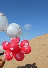 انفجارات قرب الحدود.. بالونات حارقة من غزة دعما للأسرى
