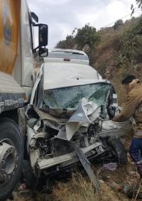 وفاتان وإصابتان في حادث سير غرب الخليل