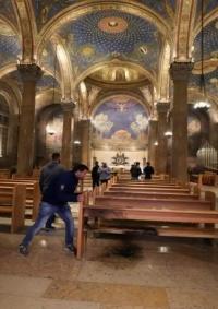 المطران عطا حنا: الاعتداء على كنيسة الجثمانية يدل على عقلية عنصرية غاشمة