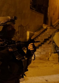 مواجهات مع الاحتلال بعد اقتحام منزل الشهيد ريان شرق سلفيت