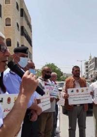 بيت لحم: وقفة إسناد ودعم مع الأسرى لمناسبة يوم الأسير