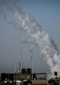 رشقات صاروخية في القدس وعسقلان ومحيط غزة