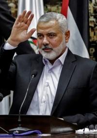 حماس تجدد انتخاب هنية رئيسا لها لدورة جديدة