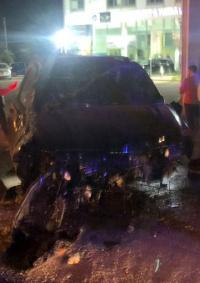 الفنان اللبناني وائل كفوري يتعرض لحادث سير مروع (صور)