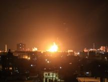 الاحتلال يعلن استهداف 5 فلسطينيين شمال القطاع