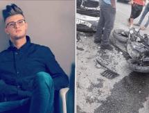 (صور) وفاة شاب بحادث اصطدام دراجة ومركبة في سلفيت