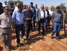 الصالح: سنعمل بشكل عاجل على تنفيذ مشاريع تطويرية في منطقة جبل صبيح