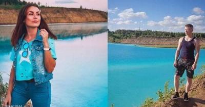 """من أجل صور """"سيلفي"""".. سياح يتوافدون لبحيرة روسية """"سامة"""""""