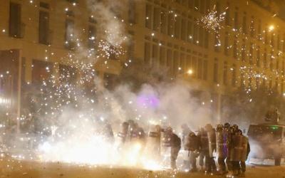 أكثر من 160 جريحاً في مواجهات بين المتظاهرين وقوى الأمن في بيروت
