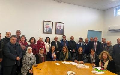 المجلس الاستشاري يناقش أزمة الكهرباء ومشروع بيت لحم عنقود سياحي وقضايا أخرى