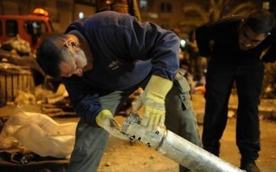 جيش الاحتلال: سقوط صاروخ بمنطقة مفتوحة بـ