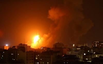 طائرات الاحتلال تقصف شرق غزة