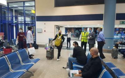 دفعة جديدة من العالقين في الأردن في طريقها إلى ارض الوطن
