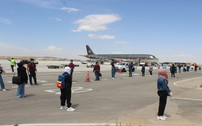 إجلاء 46 أردنيا وفلسطينيا من كازاخستان