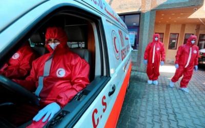 وفاة مواطن و67 اصابة جديدة بكورونا في غزة