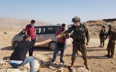 الاحتلال يهدم مسكنين شرق طوباس