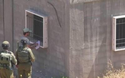 الاحتلال يخطر بوقف البناء في ثلاثة منازل مأهولة ببلدة الخضر جنوب بيت لحم