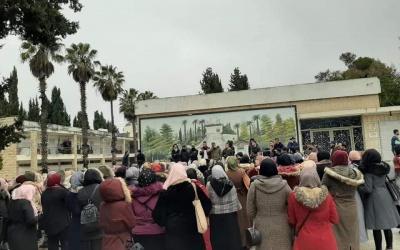 الحركة الطلابية في الكلية الجامعية للعلوم التربوية تواصل إضرابها عن تقديم الامتحانات