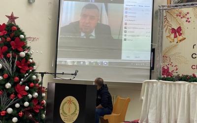 رئيس بلدية بيت لحم يطلق رسالة الميلاد
