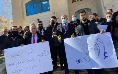 نقابة المحامين تعلن سلسلة خطوات تصعيدية احتجاجا على القرارات بقوانين المتعلقة بالقضاء