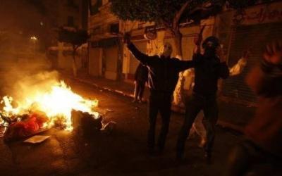 إصابات بالاختناق جراء قمع الاحتلال مسيرة جنوب نابلس