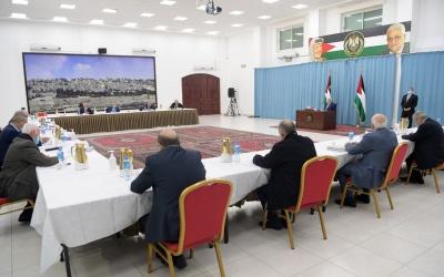 الرئيس عباس: مصممون على إجراء الانتخابات بموعدها في الضفة والقدس الشرقية وقطاع غزة.