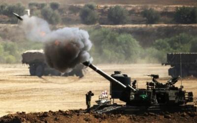 إصابات في قصف مدفعي وغارات إسرائيلية شرق غزة