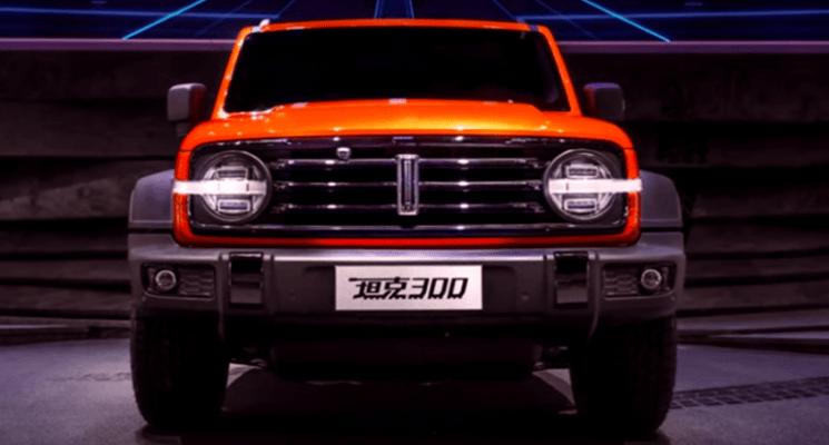 """""""قاتلة jeep wrangler"""" الصينية تلفت انتباه محبي السيارات القوية!"""
